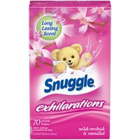 Snuggle Exhilarations Wild Orchid & Vanilla Fabric Softener Dryer Sheets