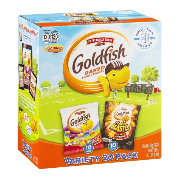 Pepperidge Farm Goldfish Colors/Flavor Blast Xtra Cheddar Baked Snack Crackers