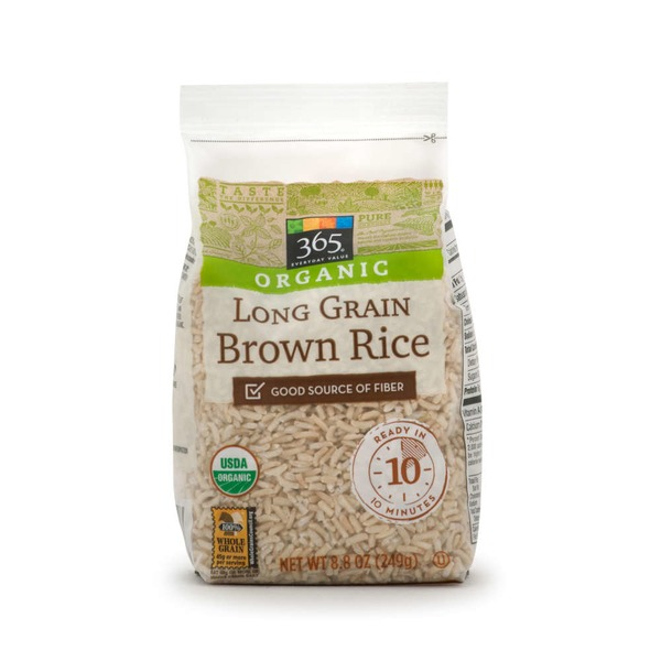 365 Organic Long Grain Brown Rice