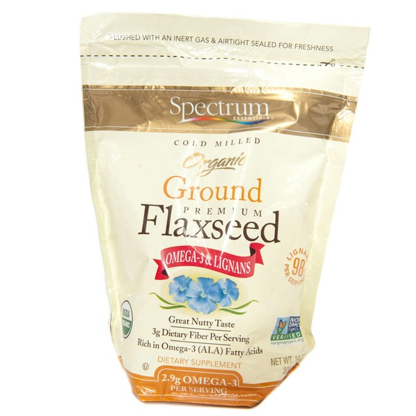 Spectrum Essentials Organic Flaxseed Ground