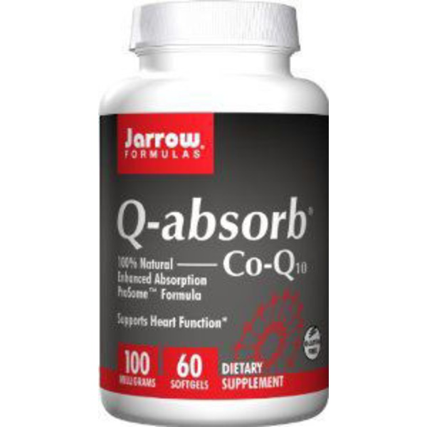 Jarrow Formulas Q-absorb Co-Q10 100 mg