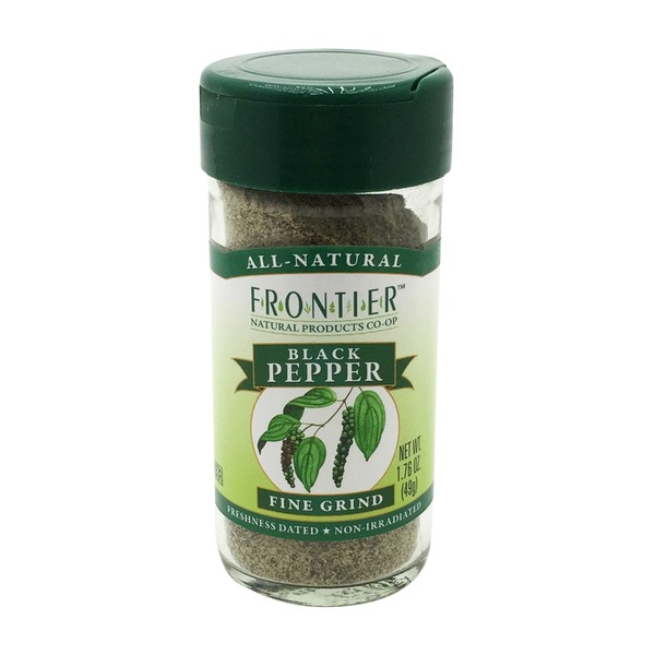Frontier Black Pepper, Fine Grind