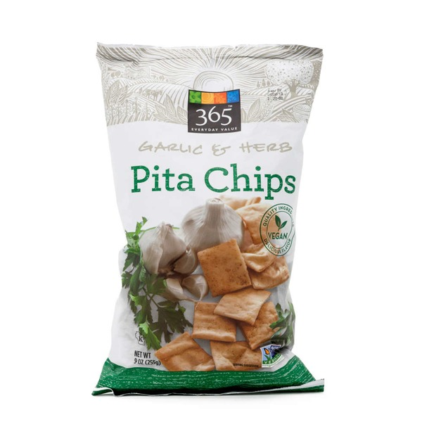 365 Garlic & Herb Pita Chips