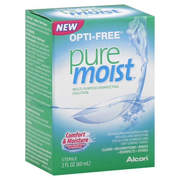 Alcon Opti-Free Pure Moist Multi-Purpose Disinfecting Solution