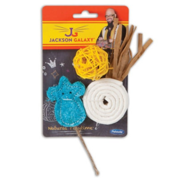 Petmate Jackson Galaxy Natural Playtime Cat Toys - 3 CT