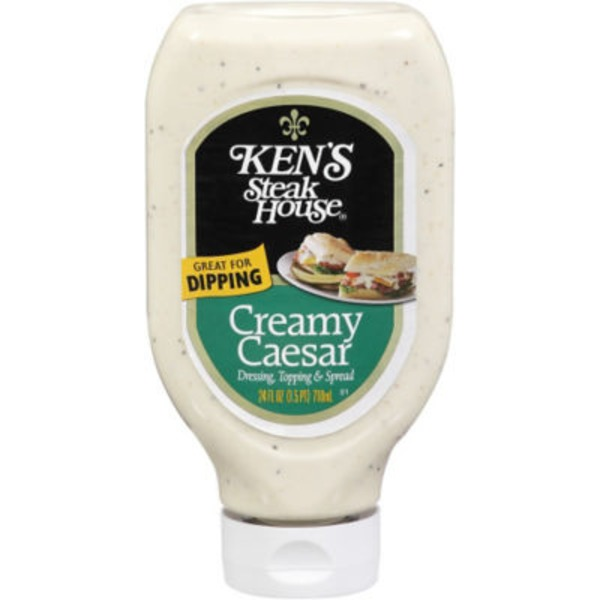 Ken's Steakhouse Creamy Caesar Dressing Topping & Spread
