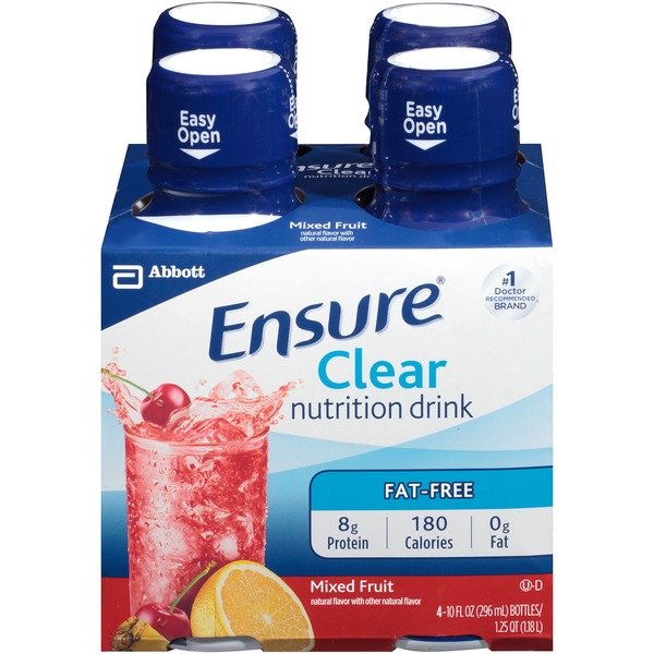 Ensure Plus Clear Mixed Fruit Nutritional Drink