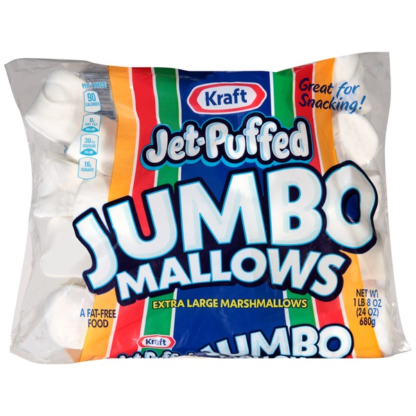 Kraft Jet Puffed Jumbo Mallows Marshmallows
