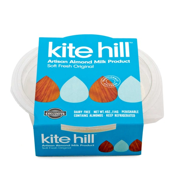 Kite Hill Almond Milk Soft Ripened Cheese