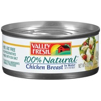 Cuyama Valley Fresh 100% Natural in Water Chicken Breast