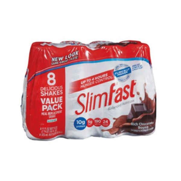 Slimfast Original Rich Chocolate Royale Meal Replacement Shakes