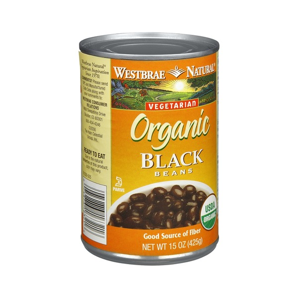 Westbrae Natural Vegetarian Organic Black Beans Low Sodium