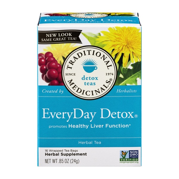 Traditional Medicinals Every Day Detox
