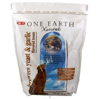 One Earth Brewer's Yeast And Garlic Flavored Treats