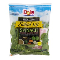 Dole Salad Kit Spinach Cherry Almond Bleu