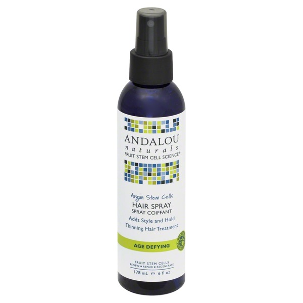 Andalou Naturals Age Defying Argan Stem Cells Thinning Hair Treatment Hair Spray