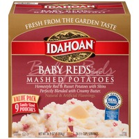 Idahoan Baby Red Mashed Potatoes, 9 ct