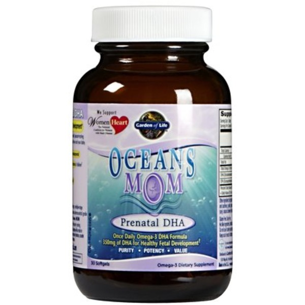 Garden of Life Oceans Mom Prenatal DHA Softgels