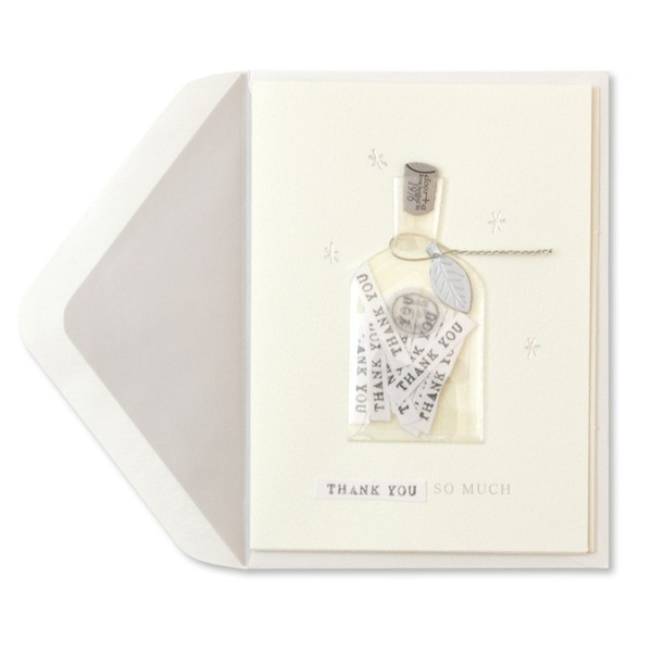 Papyrus Everyday Card - Bottle Of Thanks