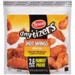 Tyson Any'tizers Buffalo Style Hot Wings, 42.88oz