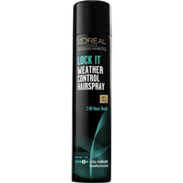 Advanced Hairstyle Lock It Weather Control Hairspray