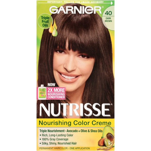 Nutrisse® 40 Dark Brown (Dark Chocolate) Nourishing Color Creme