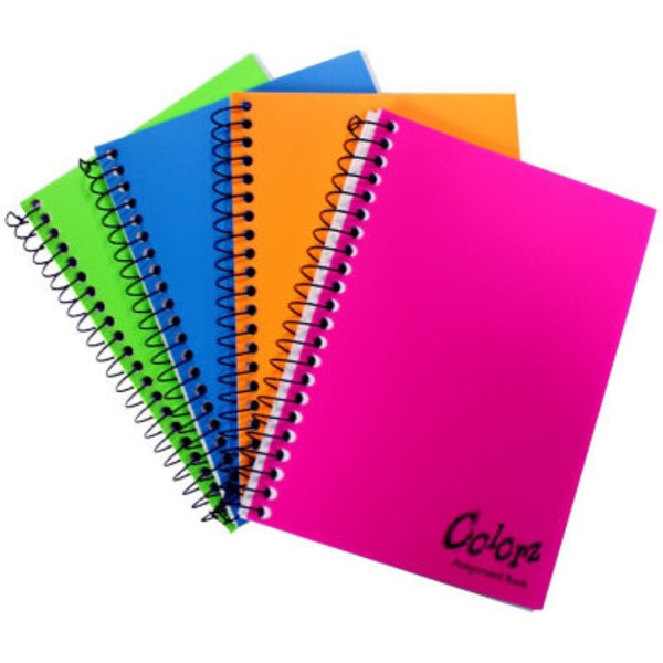 Norcom 3 Subject Wide Ruled Notebook 138 Sheets