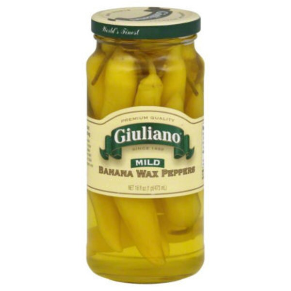 Giualiano Mild Banana Wax Peppers