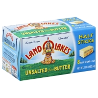 Land O Lakes Unsalted Butter Half Sticks