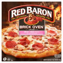 Red Baron® Brick Oven™ Crust Meat-Trio® Pizza 18.22 oz. Box