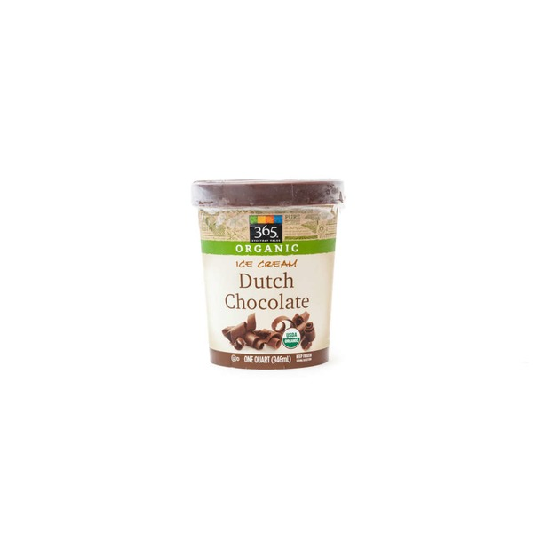 365 Organic Dutch Chocolate Ice Cream