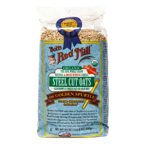 Bob's Red Mill Organic Whole Grain Steel Cut Oats