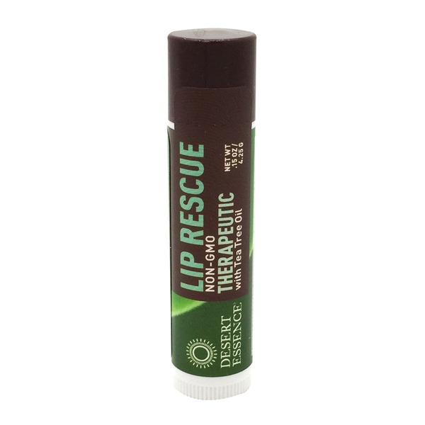 Desert Essence Lip Rescue with Eco - Harvest Tea Tree Oil
