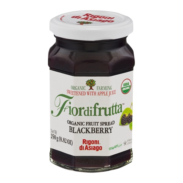 Fiordifrutta Organic Fruit Spread Blackberry