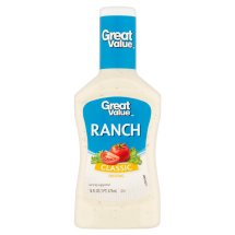 Great Value Classic Ranch Dressing, 16 fl oz