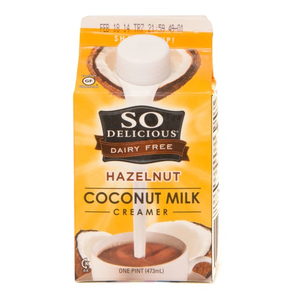 So Delicious Dairy Free Hazelnut Coconut Milk Creamer