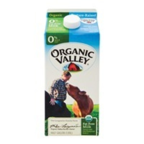 Organic Valley 0% Organic Milk