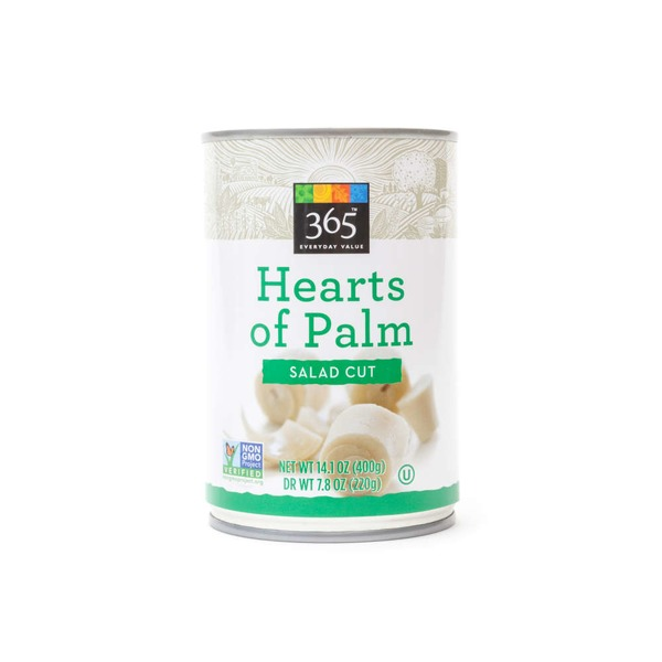 365 Cut Hearts Of Palm
