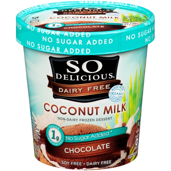 So Delicious Coconut Milk Chocolate Non-Dairy Frozen Dessert