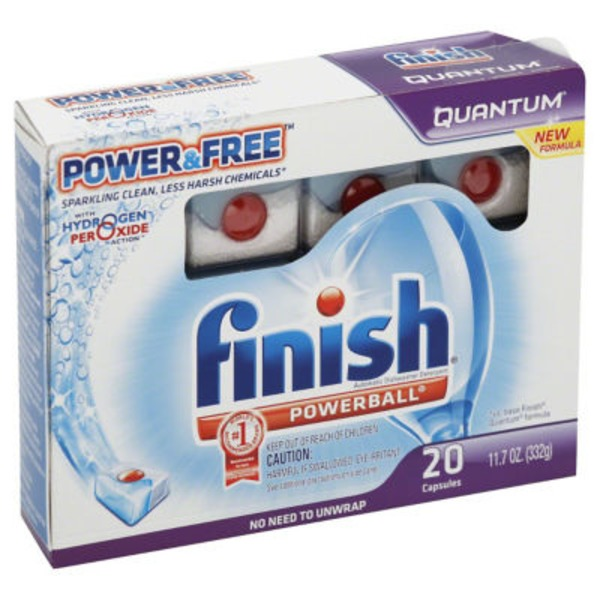 Finish Powerball Max in 1 Automatic Dishwasher Detergent