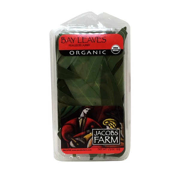 Jacob's Farm Organic Bay Leaves