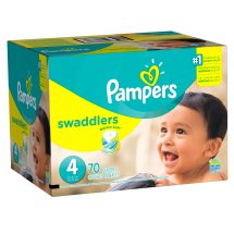 Pampers Swaddlers Diapers Size 4, 70 Diapers