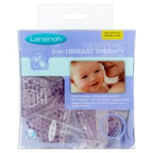 Lansinoh Thera°Pearl 3-in-1 Breast Therapy Hot or Cold Reusable Treatment, 2 pack