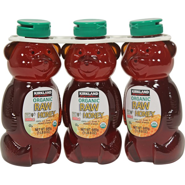 Kirkland Signature Raw Organic Honey Bears