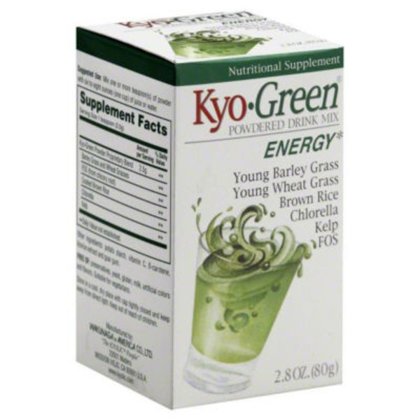Kyolic Kyo-Green Energy Photonutrient Source Powdered Drink Mix