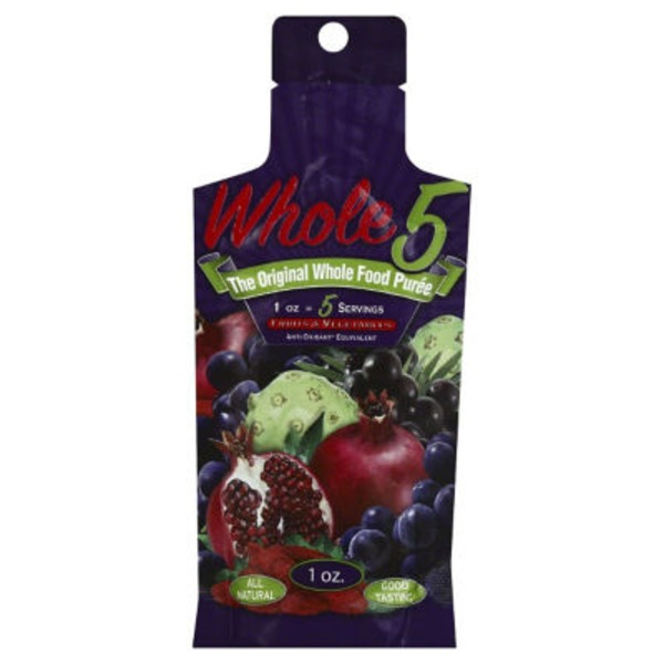 Whole 5 Fruits & Vegetables Whole Food Puree