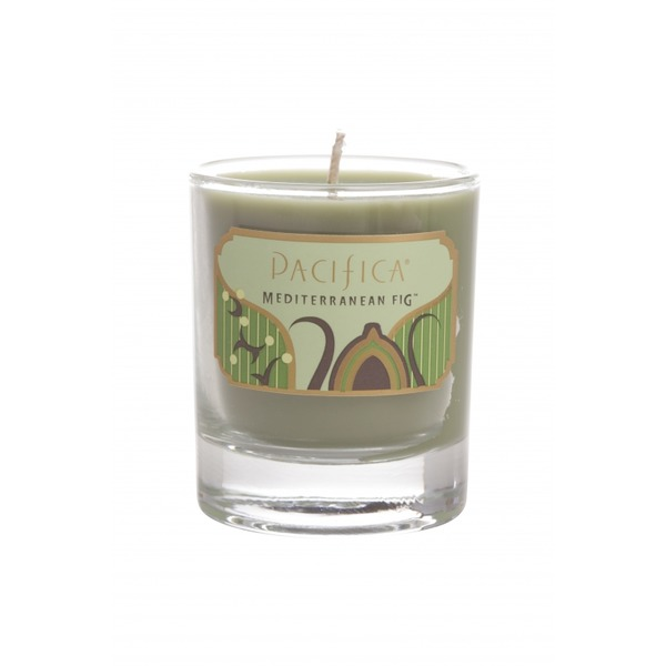 Pacifica Fig Soy Wax Glass Candle