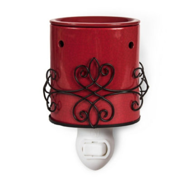 ScentSationals Monterey Crackle Red Accent Warmer