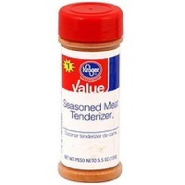 Kroger Value Seasoned Meat Tenderizer