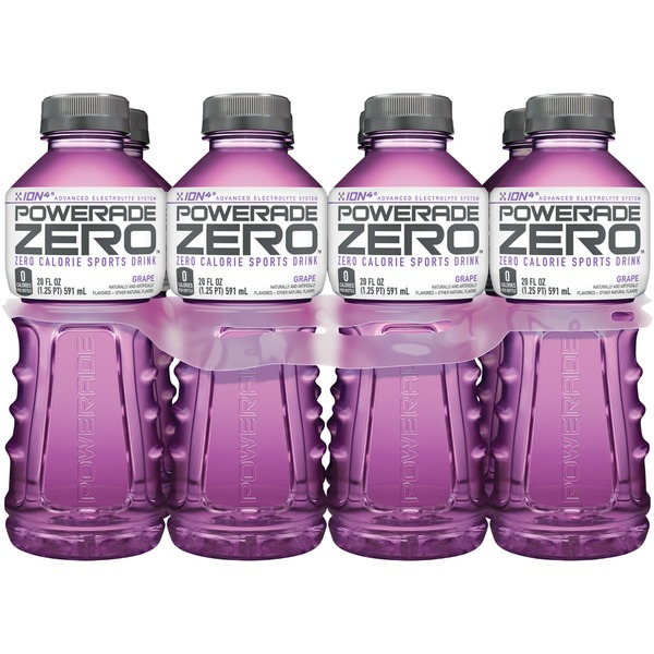 Powerade Zero ION4 Grape Sports Drink